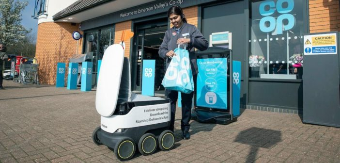 Co-op and Starship Technologies to expand robot delivery partnership